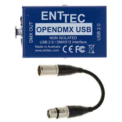 Enttec - Open DMX USB Interface Bundle