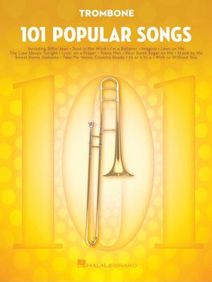 Hal Leonard - 101 Popular Songs Trombone