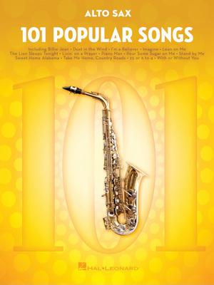 Hal Leonard - 101 Popular Songs Alto Sax