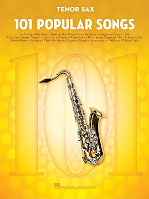 Hal Leonard - 101 Popular Songs T-Sax