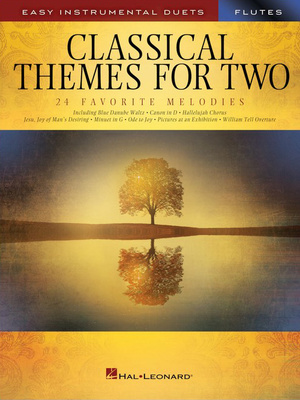 Hal Leonard - Classical Themes Two Flutes