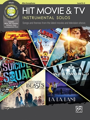 Alfred Music Publishing - Hit Movie & TV Solos A-Sax