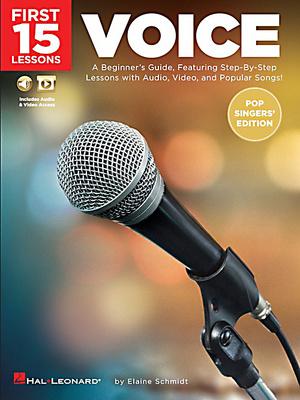 Hal Leonard - 15 Lessons: Voice Pop Singers