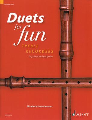 Schott - Duets for Fun Treble Recorder