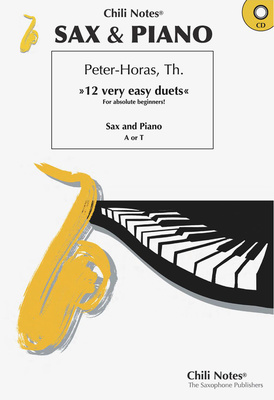 Musikverlag Chili Notes - Sax & Piano-12 very easy duets