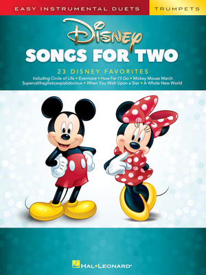 Hal Leonard - Disney Songs For Two Trumpet