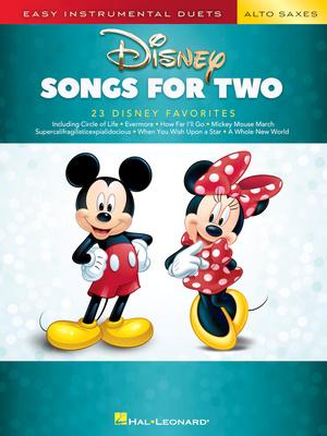 Hal Leonard - Disney Songs for two Alto Sax