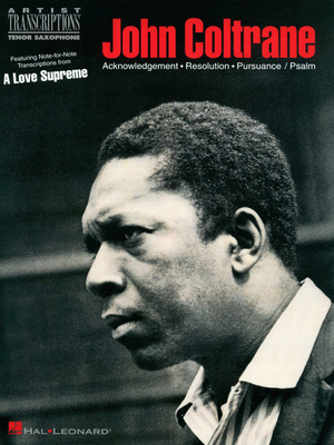 Hal Leonard - Coltrane A Love Supreme T-Sax