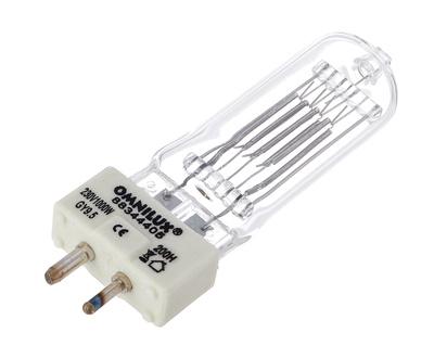 Omnilux - 230V/1000W GY-9,5 200h 3200K