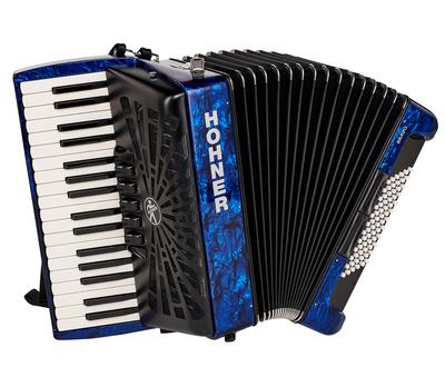 Hohner - Bravo III 72 Blue silent key