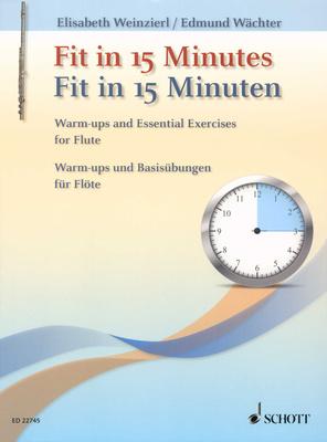 Schott - Fit In 15 Minutes Flute
