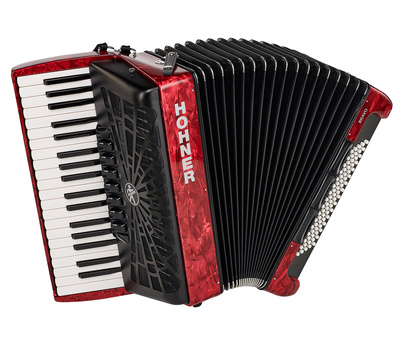 Hohner - Bravo III 80 Red silent key