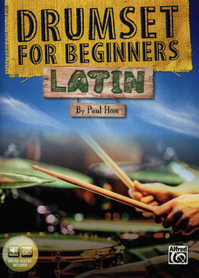 Alfred Music Publishing - Drumset For Beginners Latin