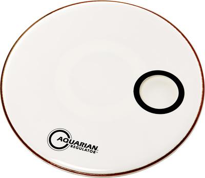 Aquarian - 20' Regulator White Bass Drum