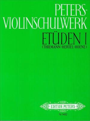 Edition Peters - Violinschulwerk Etüden 1