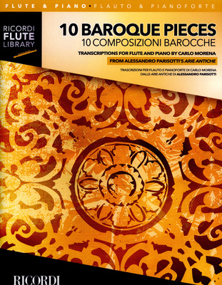 Ricordi - 10 Baroque Pieces Flute