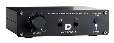 Lake People - G111 Black Phoneamp