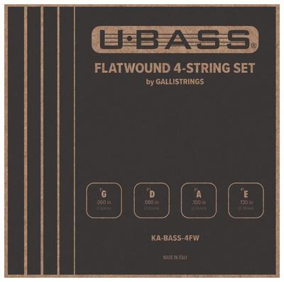 Kala - U-Bass Flatwound 4-String Set