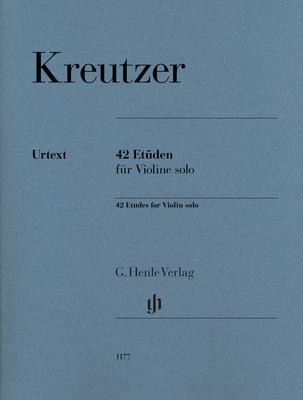 Henle Verlag - Kreutzer 42 Etüden Violin