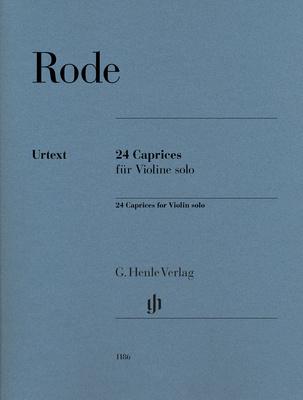 Henle Verlag - Rode 24 Caprices Violin