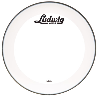 Ludwig - 20' Bass Drum Head Vint. Logo