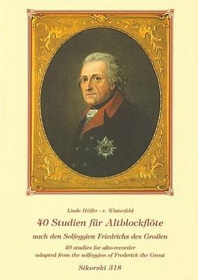 Sikorski Musikverlage - 40 Studien Solfeggien Alto Rec