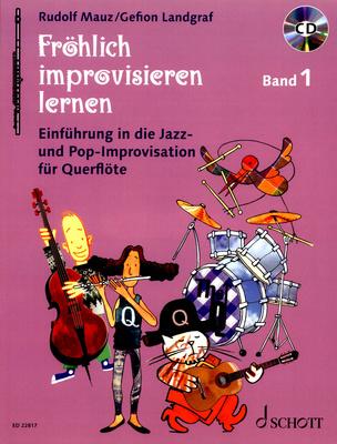 Schott - Fröhlich improvisieren Flute