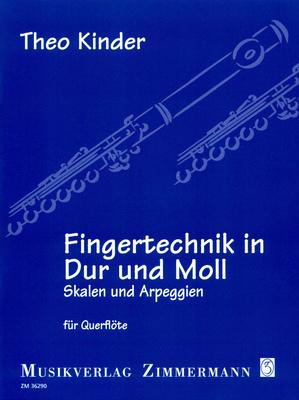 Zimmermann Verlag - Fingertechnik Flute