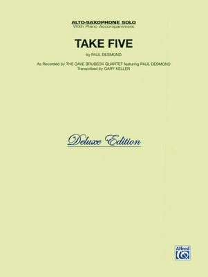 Alfred Music Publishing - Take Five Alto Sax