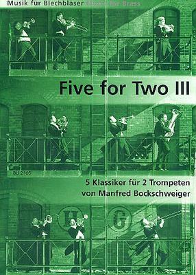 Bruno Uetz Musikverlag - Five For Two Trumpet 3