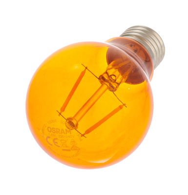 LEDVANCE - LED Star Clas 2.5W E27 Orange