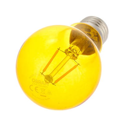 LEDVANCE - LED Star Clas 1.6W E27 Yellow