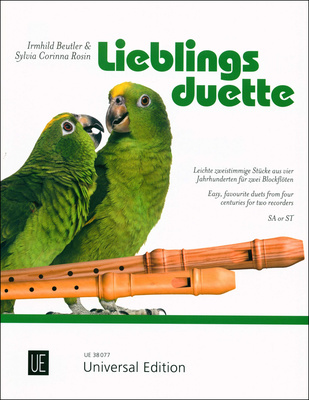 Universal Edition - Lieblingsduette Recorder SA/ST