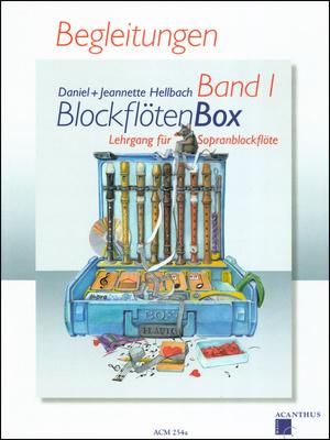 Acanthus Music - BlockflötenBox 1 Begleitungen