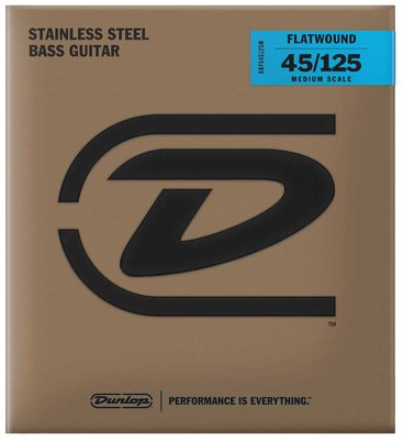 Dunlop - DBFS045125M Bass String Set