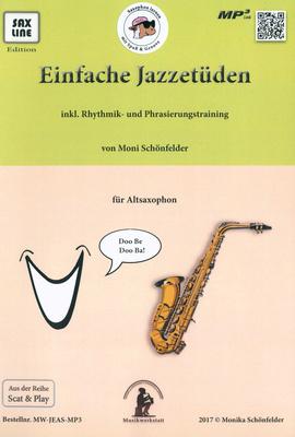 Saxline Edition - Einfache Jazzetüden Alto Sax