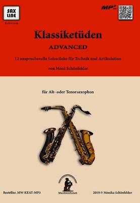 Saxline Edition - Klassiketüden Advanced Sax