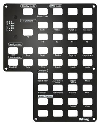 Icon - QCon Pro X Panel Bitwig
