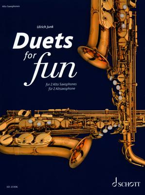 Schott - Duets for Fun Alto Saxophone