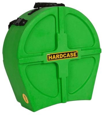 Hardcase - 14' Snare Case F.Lined L.Green