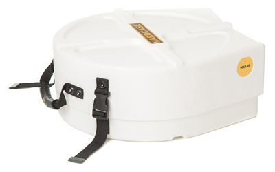 Hardcase - 14' Snare Case F.Lined White