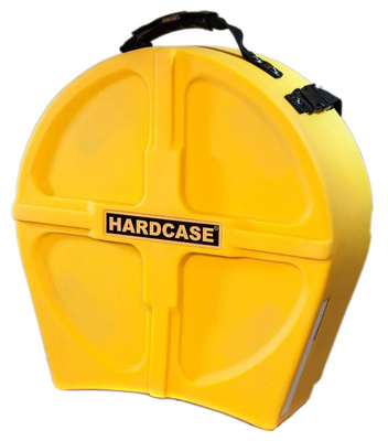 Hardcase - 14' Snare Case F.Lined Yellow