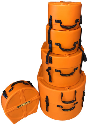 Hardcase - HRockFus3 F.Lined Set Orange