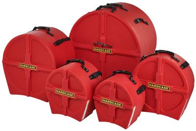 Hardcase - HRockFus3 F.Lined Set Red
