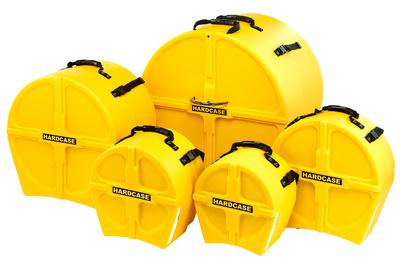 Hardcase - HRockFus3 F.Lined Set Yellow