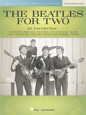 Hal Leonard - The Beatles For Two Trombone