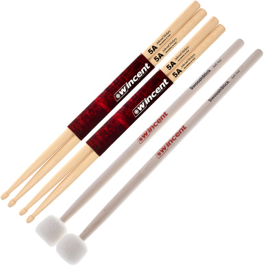 Wincent - 5A Hickory / Swoosh Value Pack