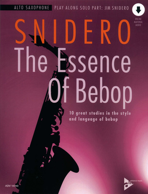 Advance Music - Essence of Bebop A-Sax