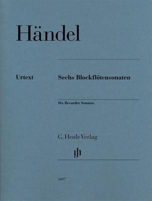 Henle Verlag - Händel Blockflötensonaten